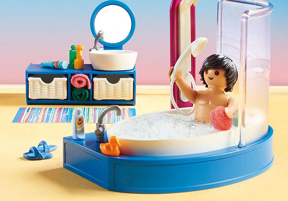 70211 Salle de bain avec baignoire  detail image 5