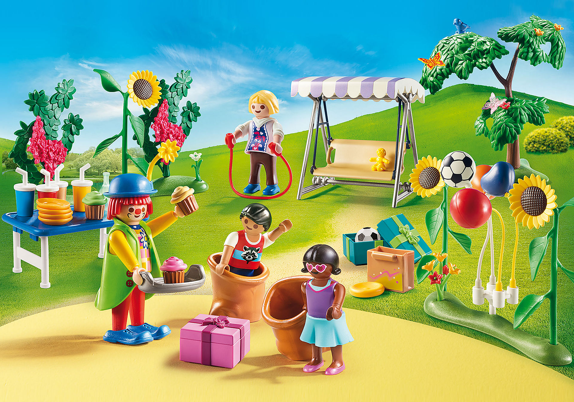 70212 Kindergeburtstag mit Clown zoom image1