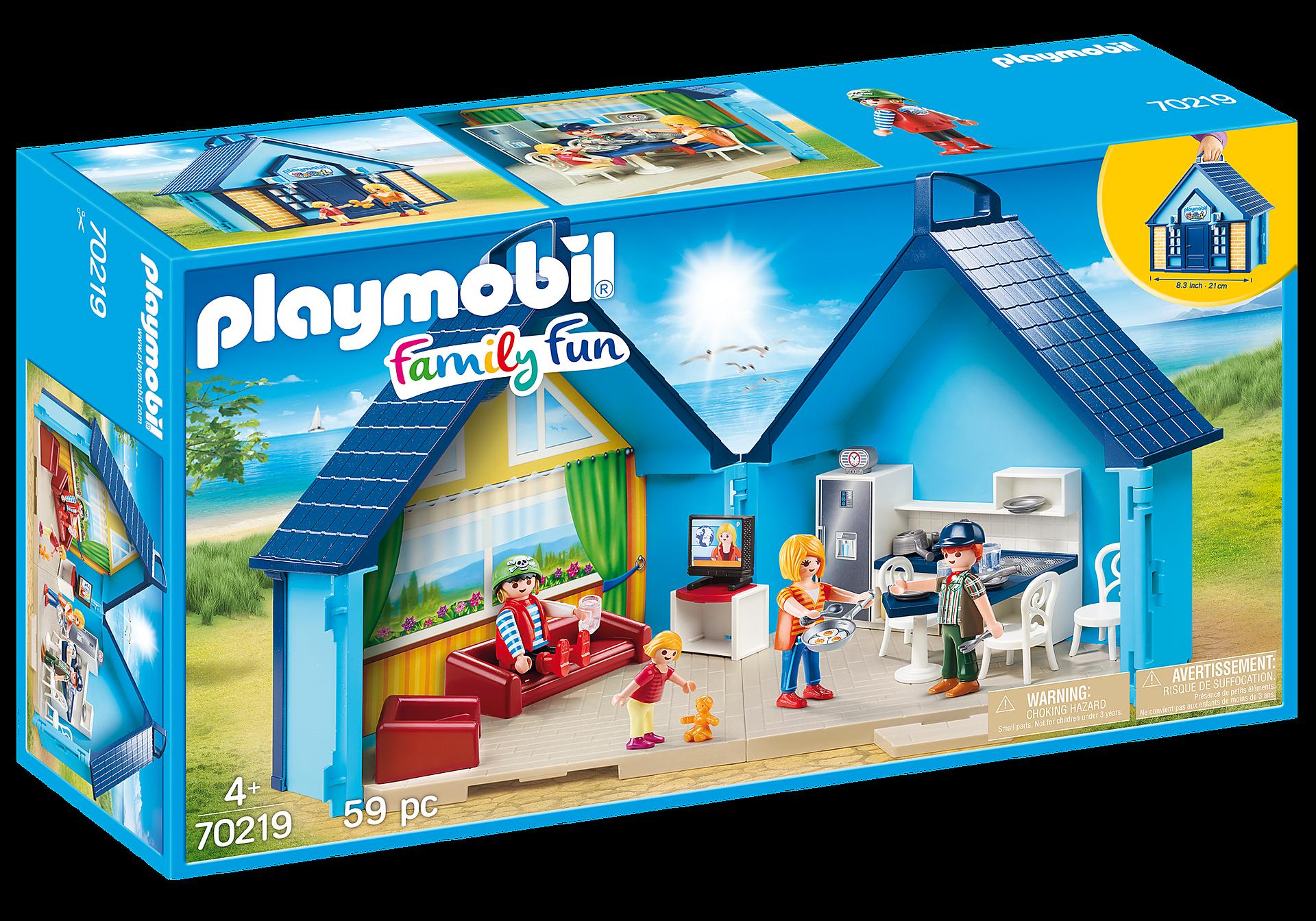 70219 PLAYMOBIL - Funpark Casa de Vacaciones Maletín zoom image2