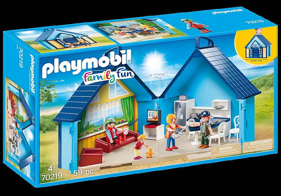 70219 PLAYMOBIL-FunPark Maleta Casa de Férias detail image 2