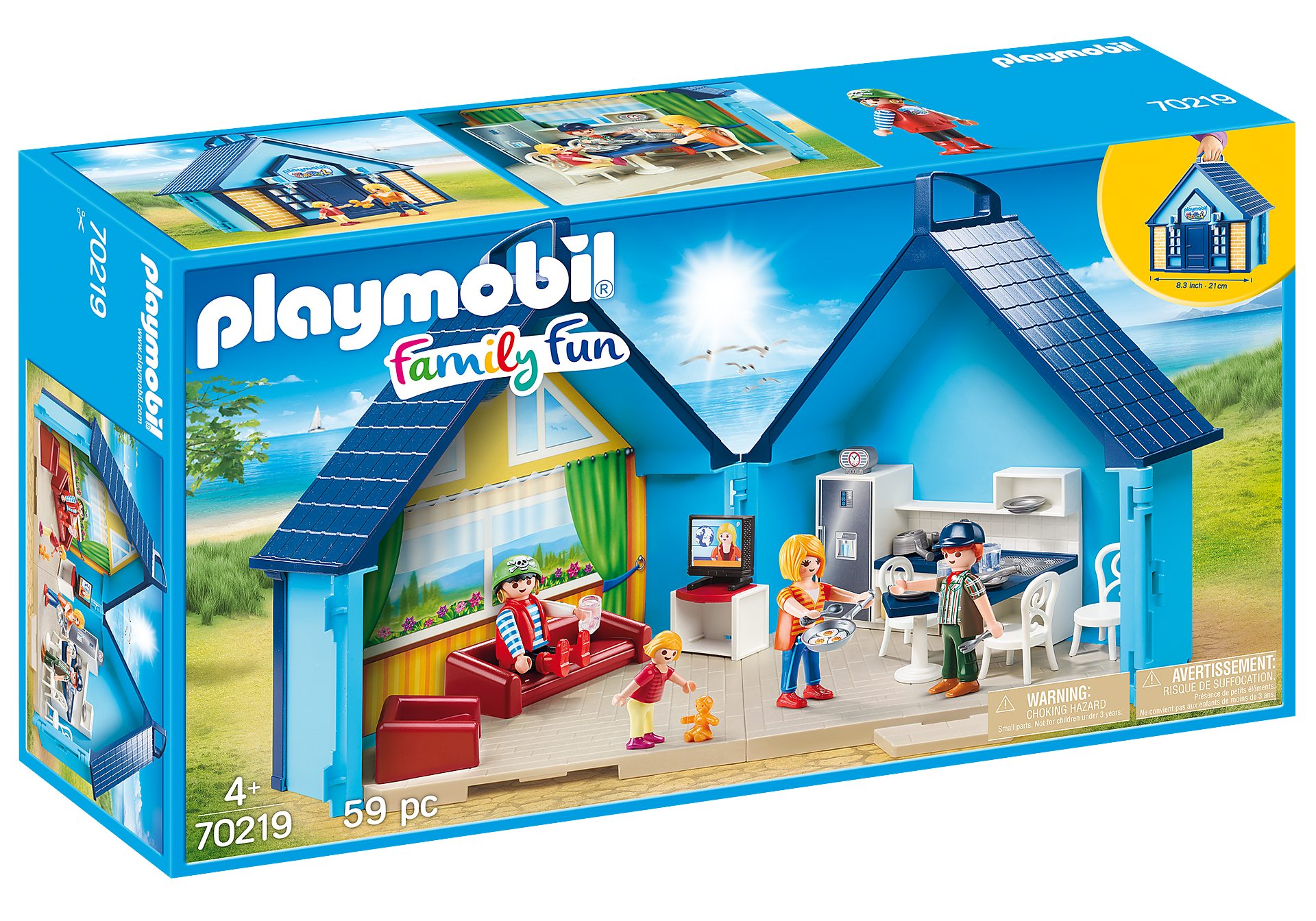 70219 PLAYMOBIL-FunPark Summerhouse Playbox zoom image2