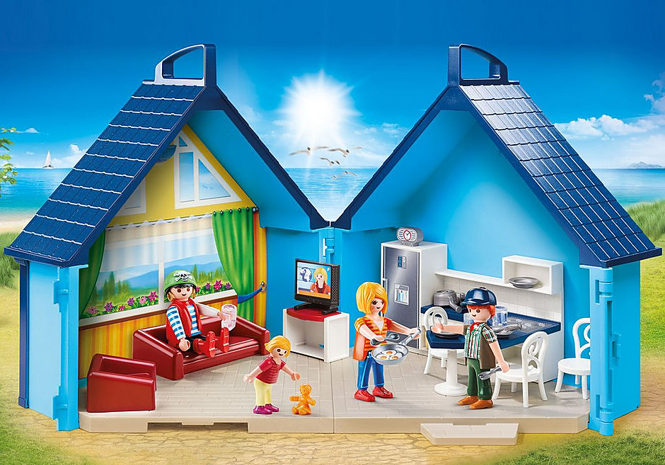 70219 PLAYMOBIL FunPark Summerhouse Take Along detail image 1