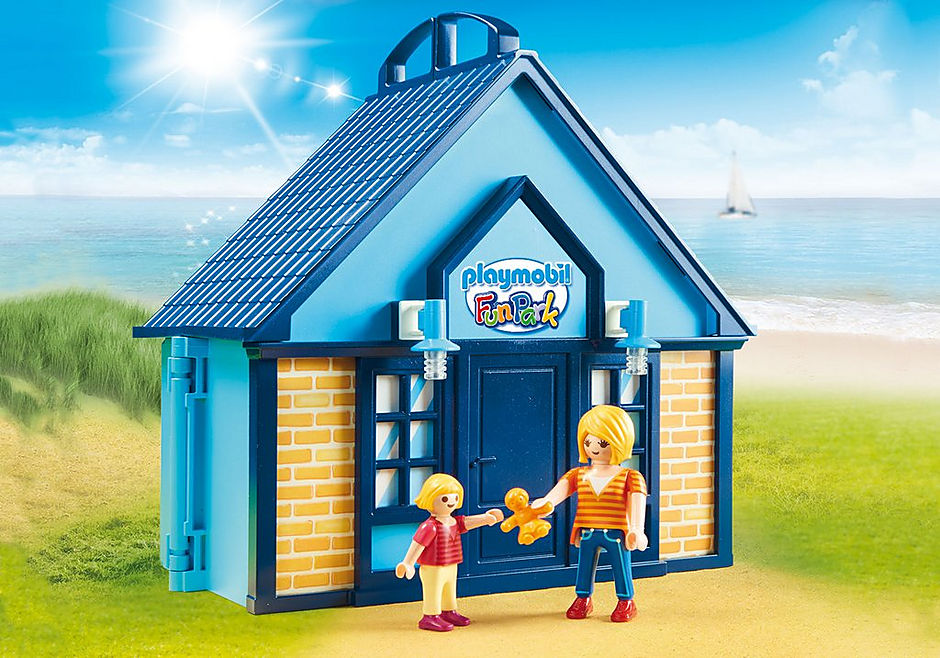 70219 PLAYMOBIL FunPark Summerhouse Take Along detail image 4
