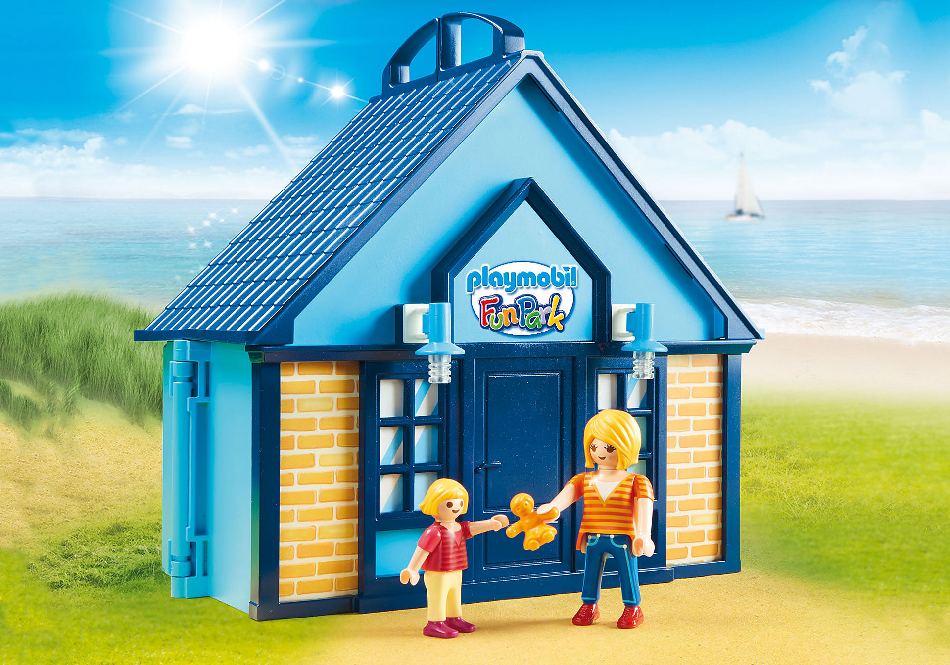 70219 PLAYMOBIL FunPark Summerhouse Take Along zoom image4