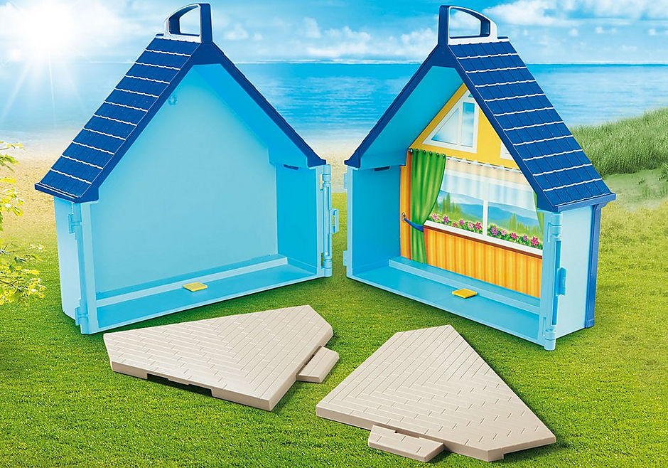 70219 PLAYMOBIL FunPark Summerhouse Take Along detail image 6