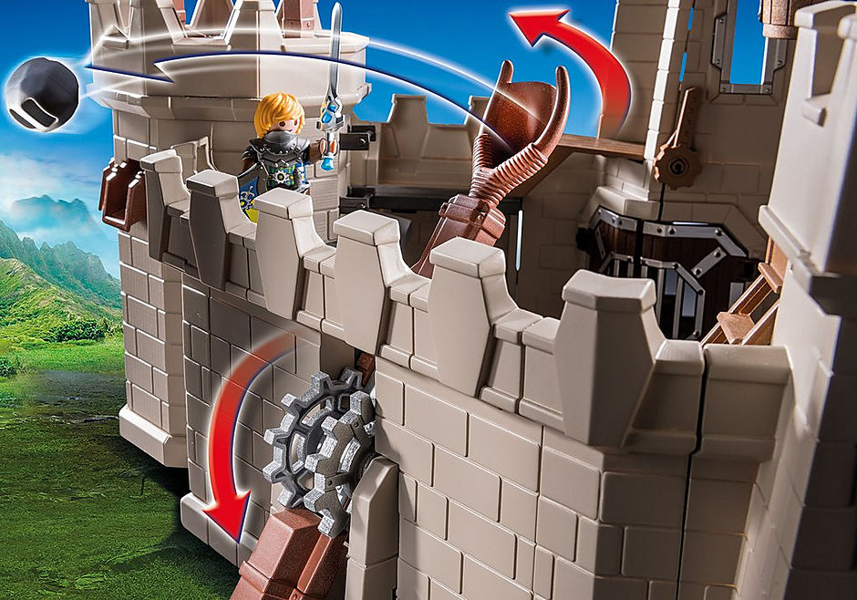 70220 Grote burcht van de Novelmore ridders detail image 8