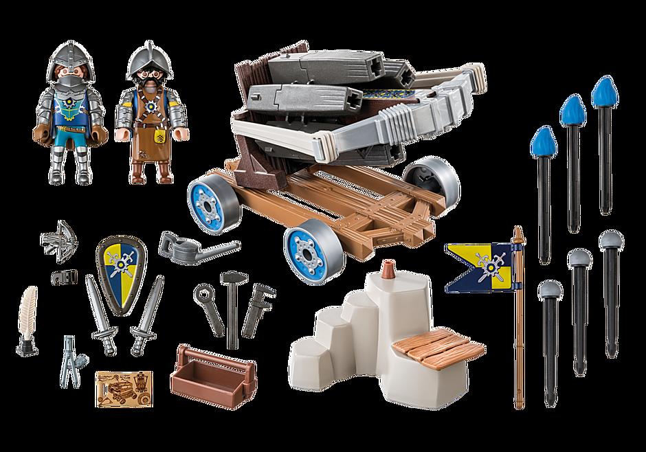 70224 Novelmore ridders met waterballista detail image 3
