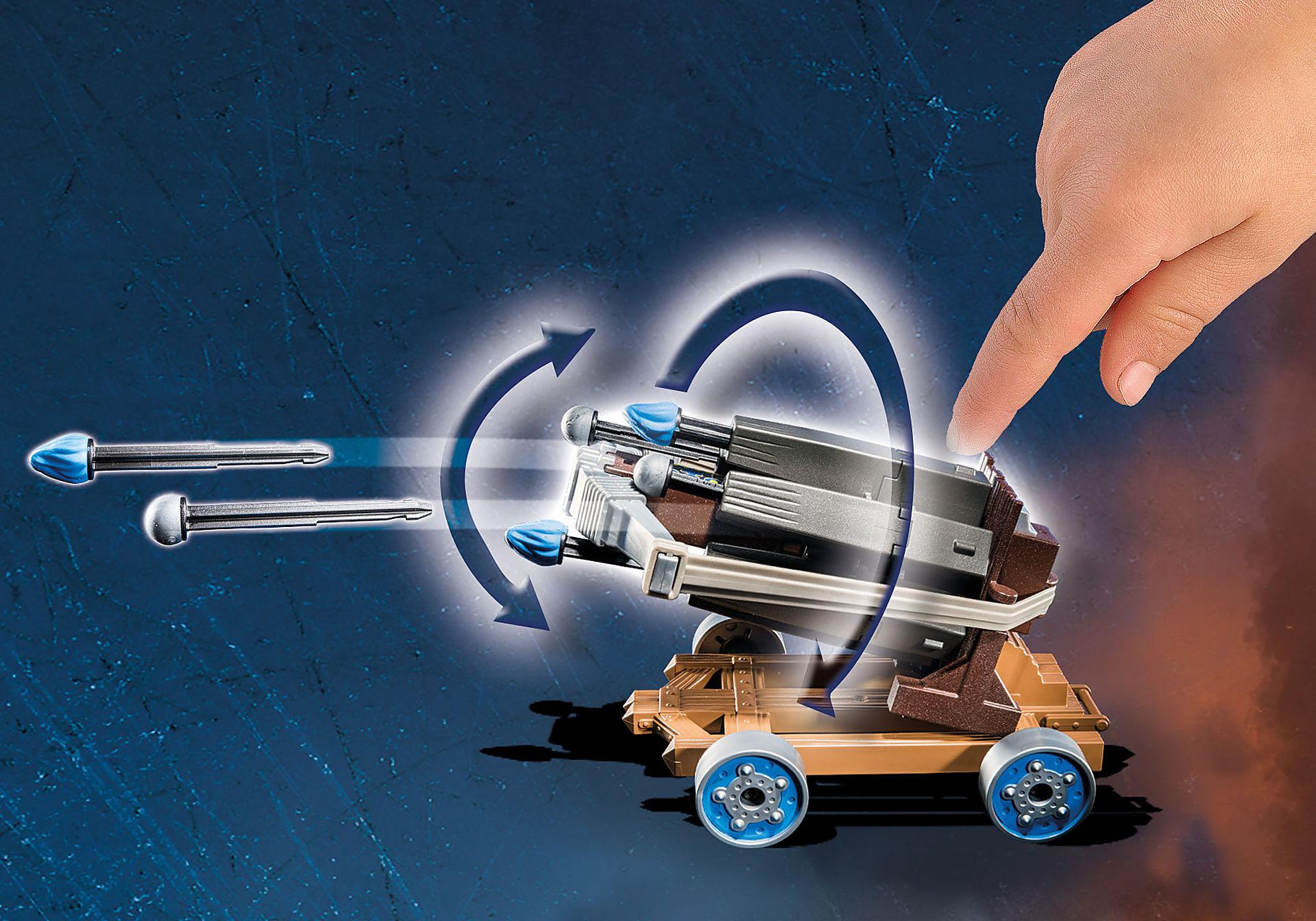 http://media.playmobil.com/i/playmobil/70224_product_extra1/Novelmore Geniale Wasserballiste