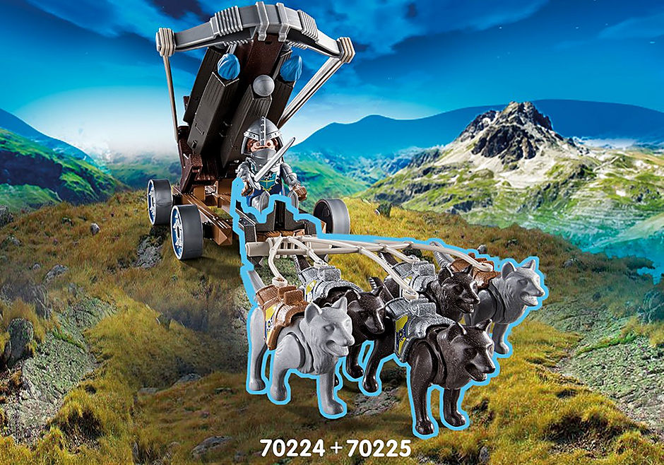 70224 Novelmore ridders met waterballista detail image 5