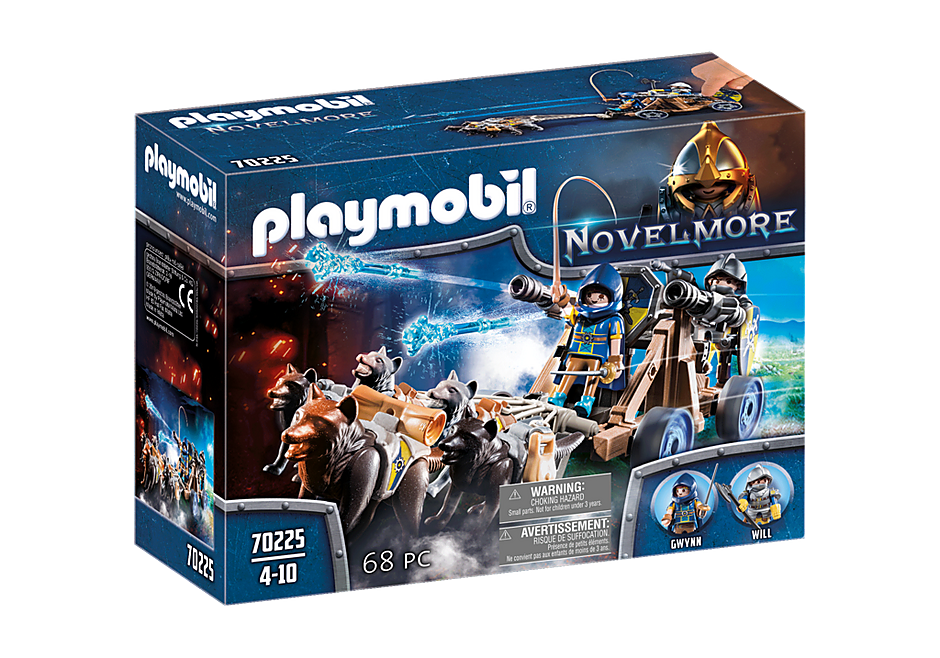 http://media.playmobil.com/i/playmobil/70225_product_box_front/Novelmore ridders met waterkanon en wolven