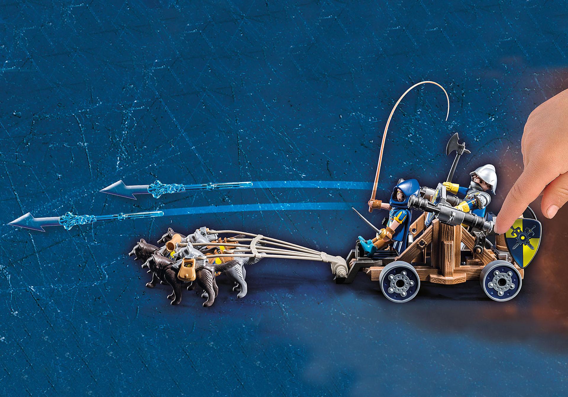 http://media.playmobil.com/i/playmobil/70225_product_extra1/Novelmore ridders met waterkanon en wolven