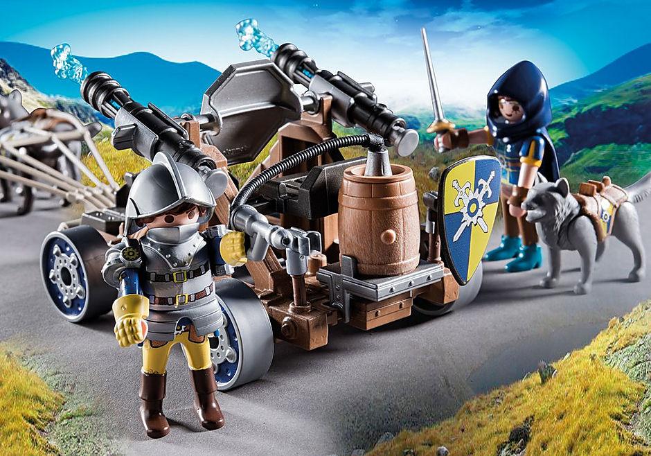 70225 Novelmore ridders met waterkanon en wolven detail image 5