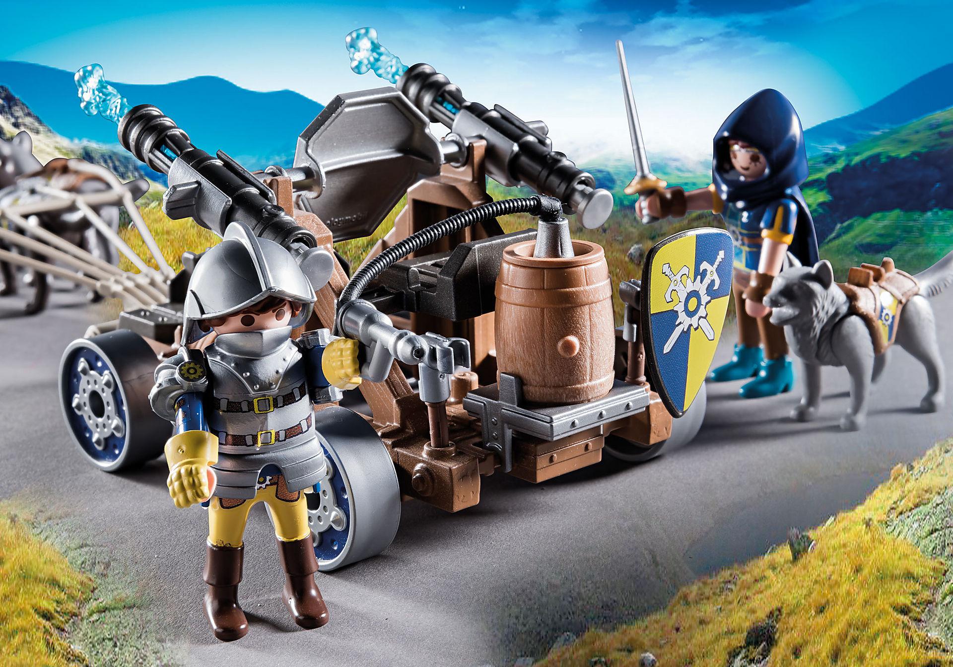 70225 Novelmore ridders met waterkanon en wolven zoom image5