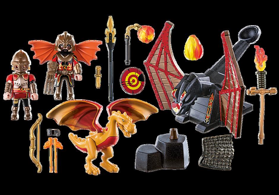 70226 Burnham Raiders et dragon doré detail image 3