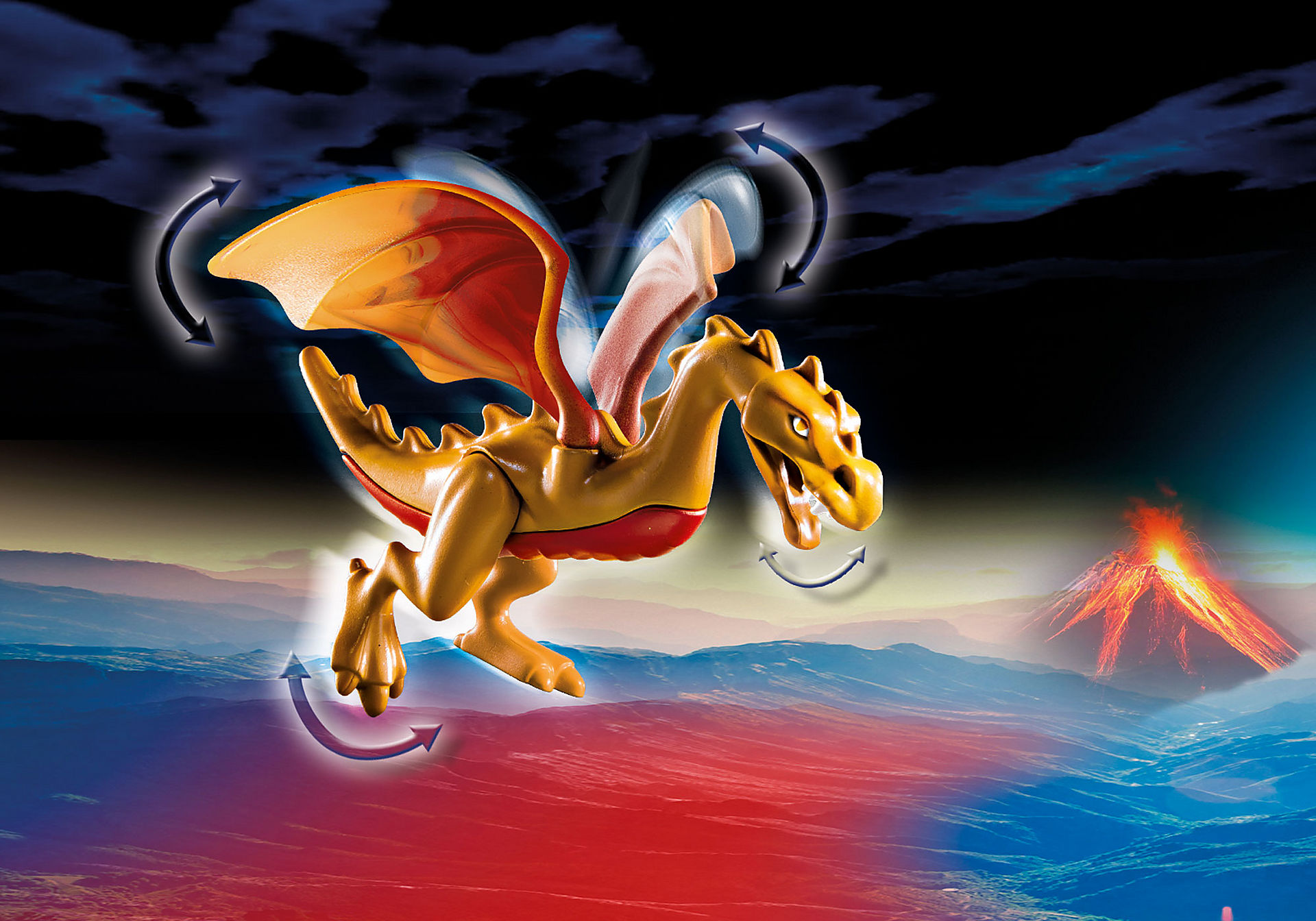 70226 Burnham Raiders et dragon doré zoom image5