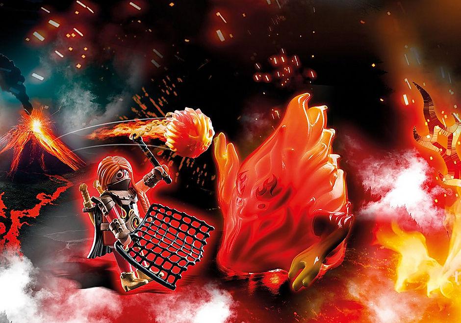70227 Burnham Raiders Feuergeist und die Hüterin des Feuers detail image 1