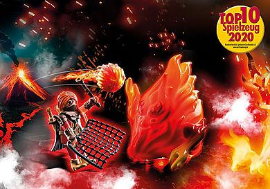70227 Burnham Raiders Feuergeist und die Hüterin des Feuers