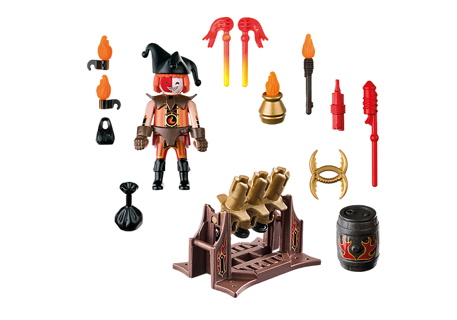70228 Burnham Raiders Feuerwerkskanonen und Feuermeister detail image 3