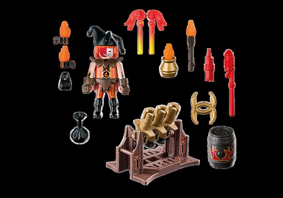 70228 Burnham Raiders Feuerwerkskanonen und Feuermeister detail image 4