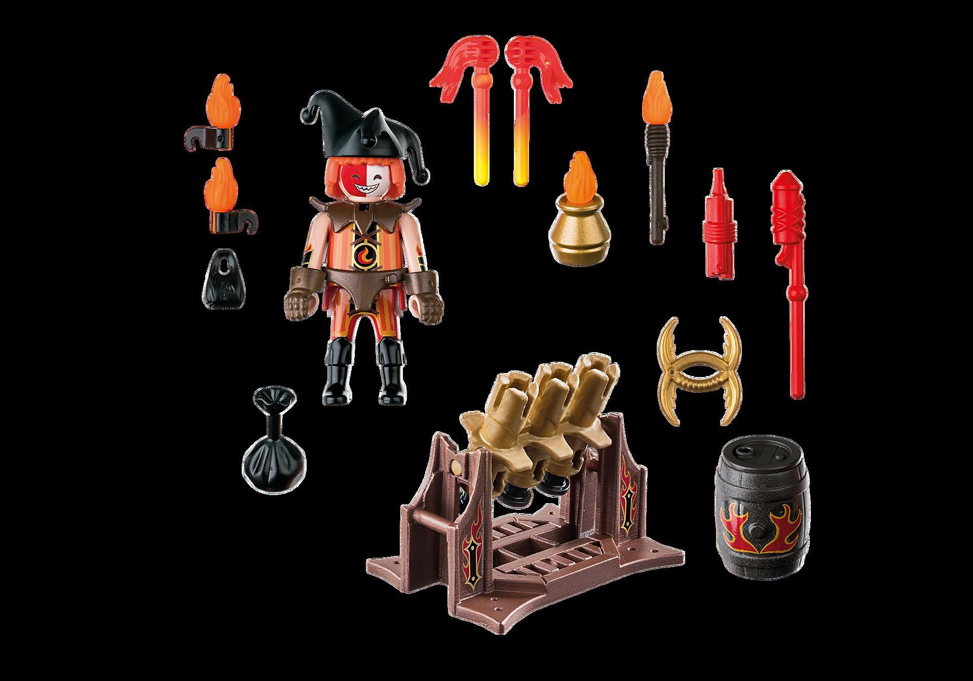 http://media.playmobil.com/i/playmobil/70228_product_box_back/Burnham Raiders Feuerwerkskanonen und Feuermeister
