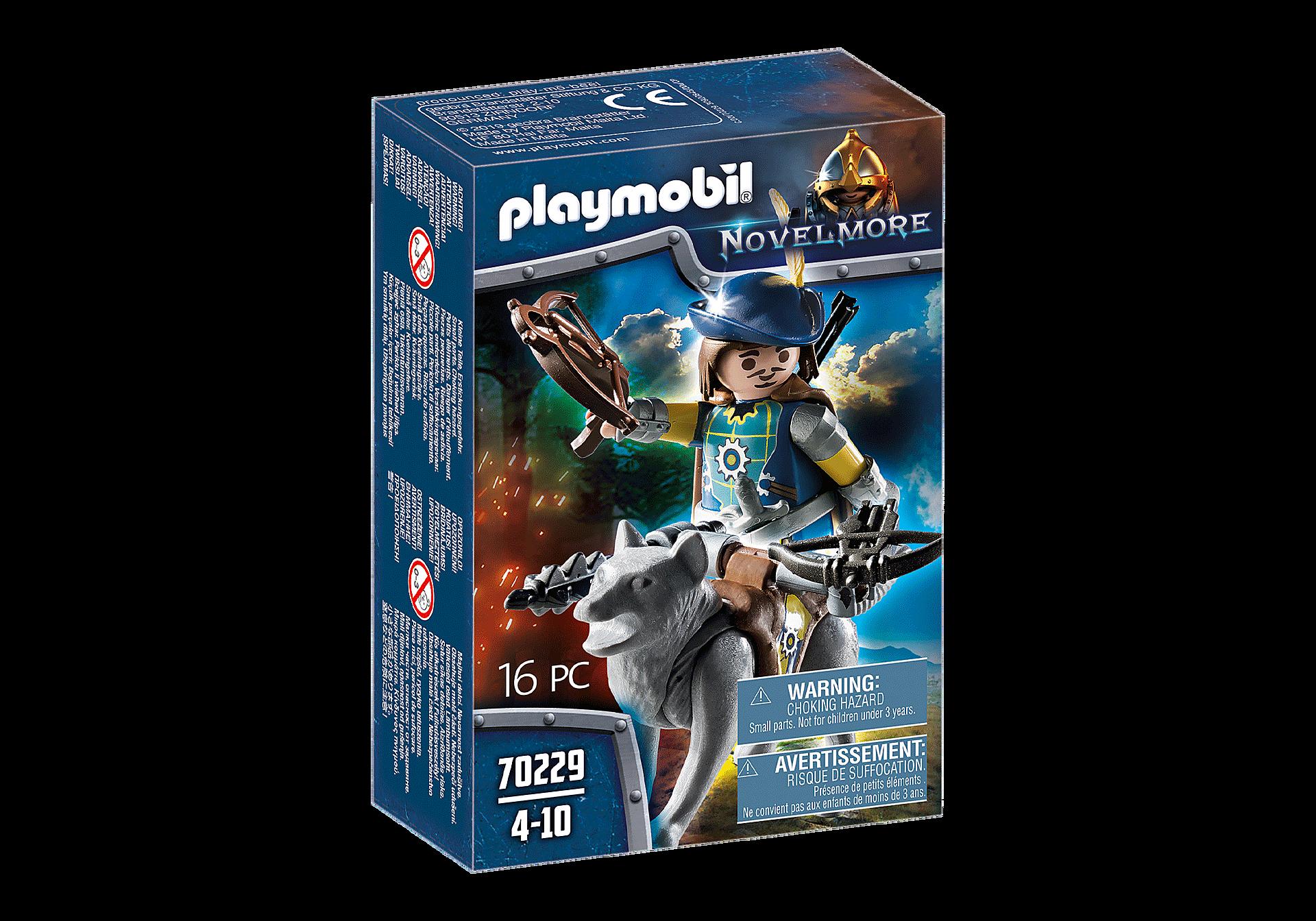http://media.playmobil.com/i/playmobil/70229_product_box_front/Novelmore Armbrustschütze mit Wolf