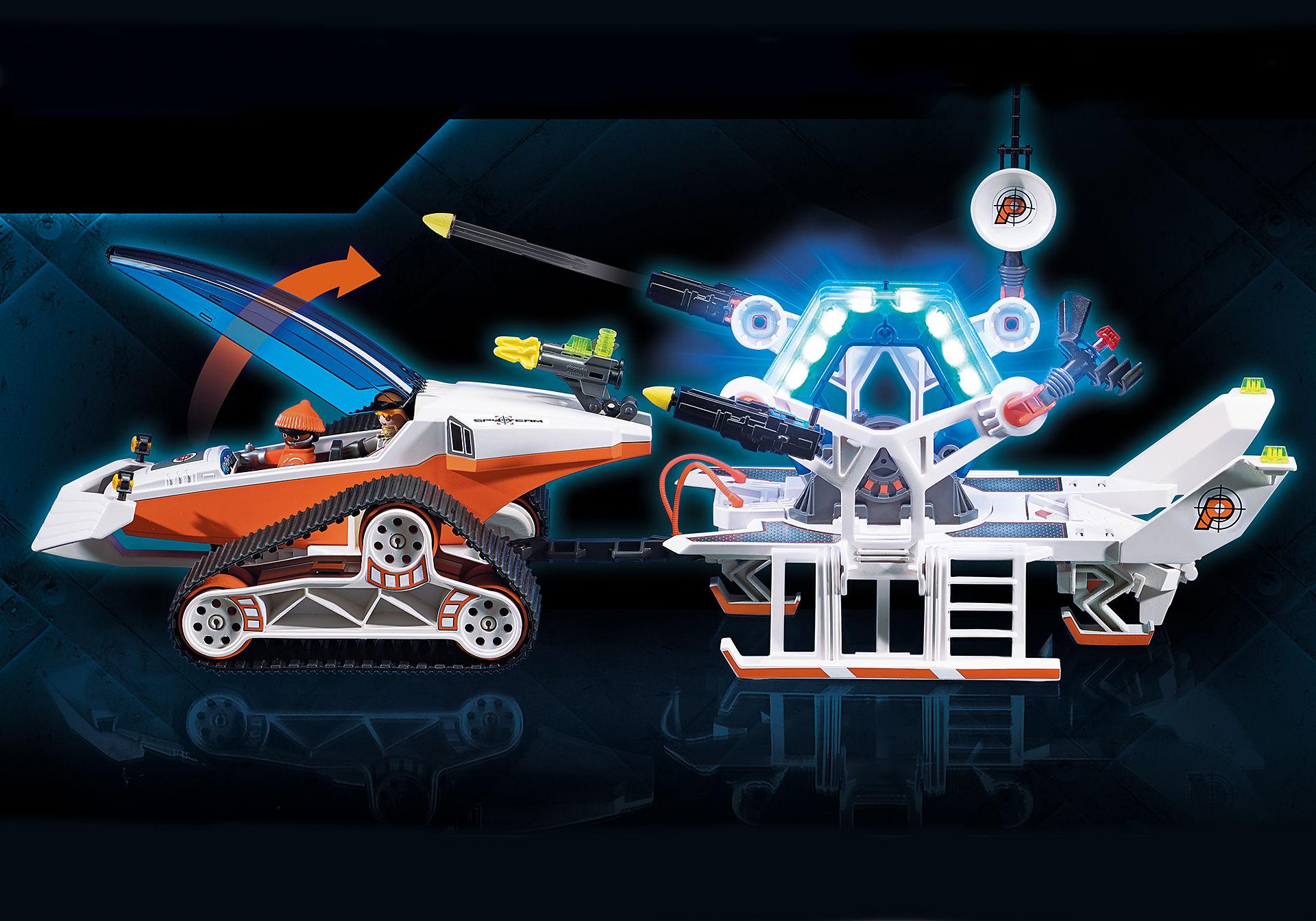 70230 Stazione di comando con veicolo cingolato dello Spy Team zoom image4