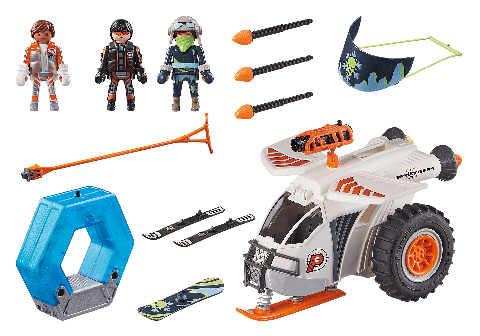 70231 Spy Team Snow Glider zoom image3