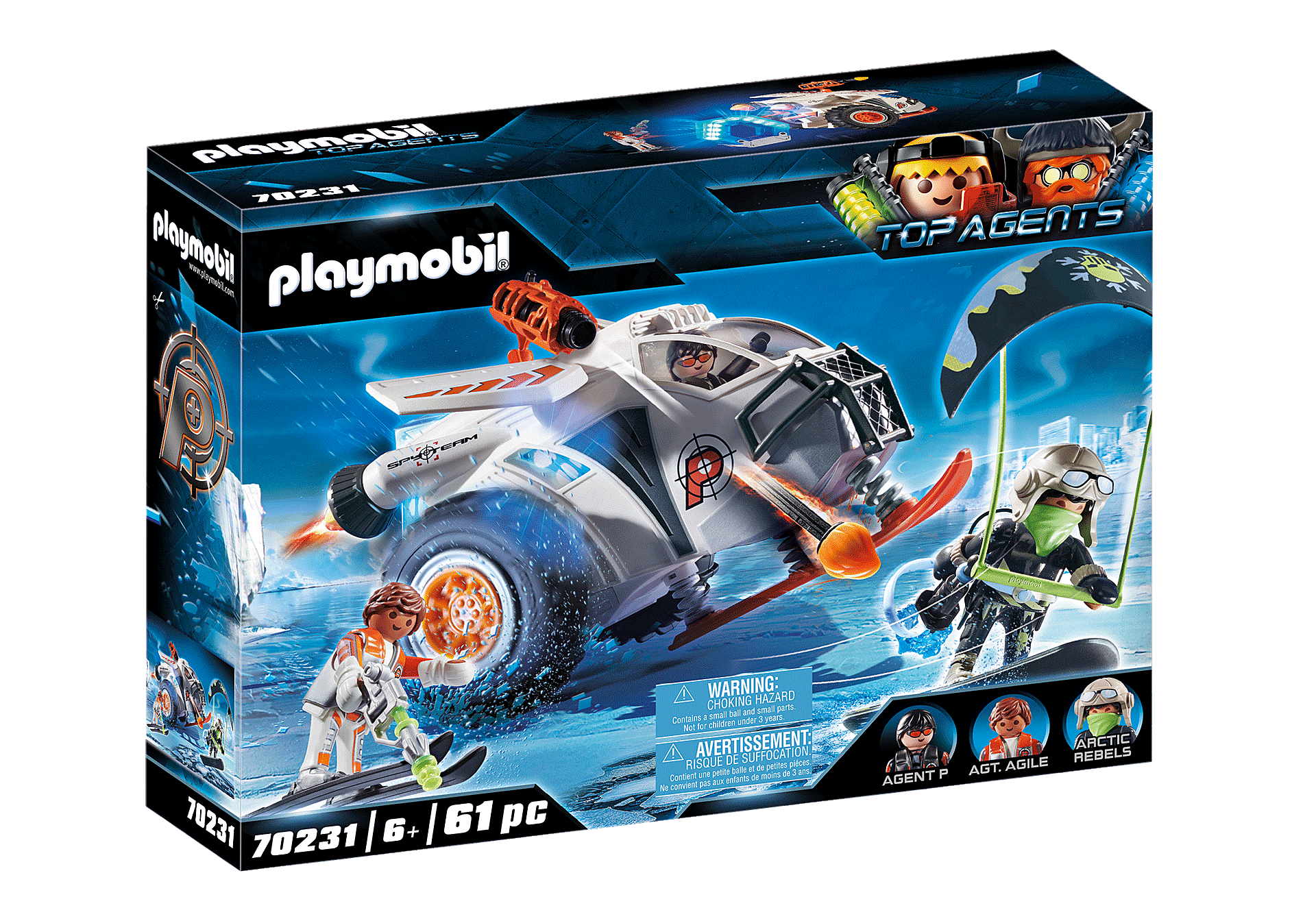 70231 Spy Team Snow Glider zoom image2