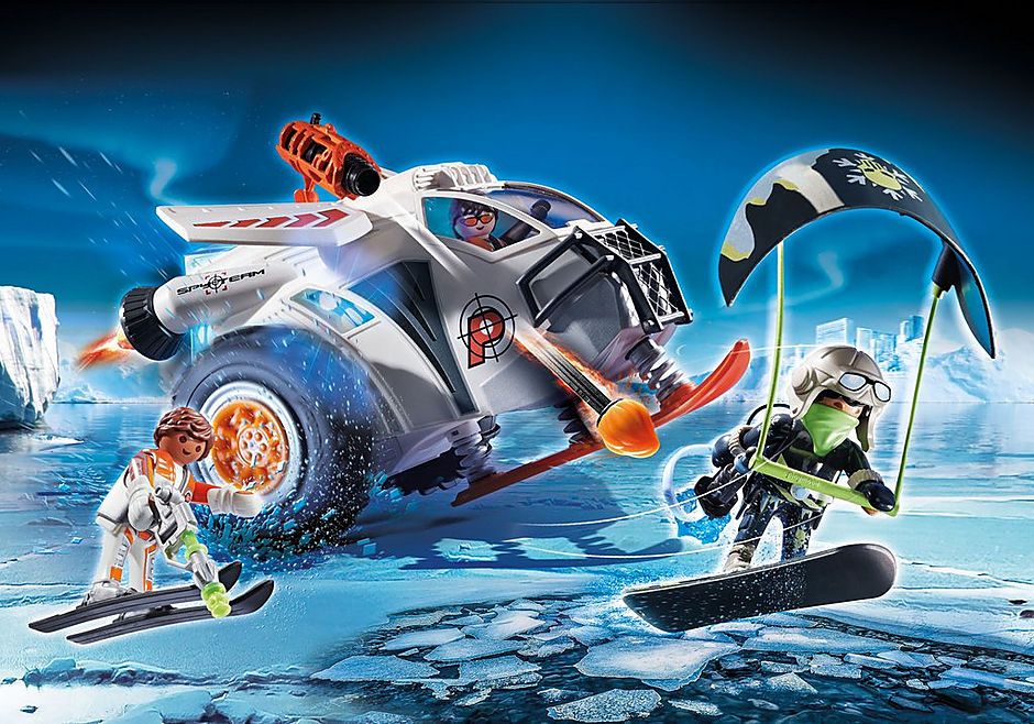 70231 Spy Team Snow Glider detail image 1