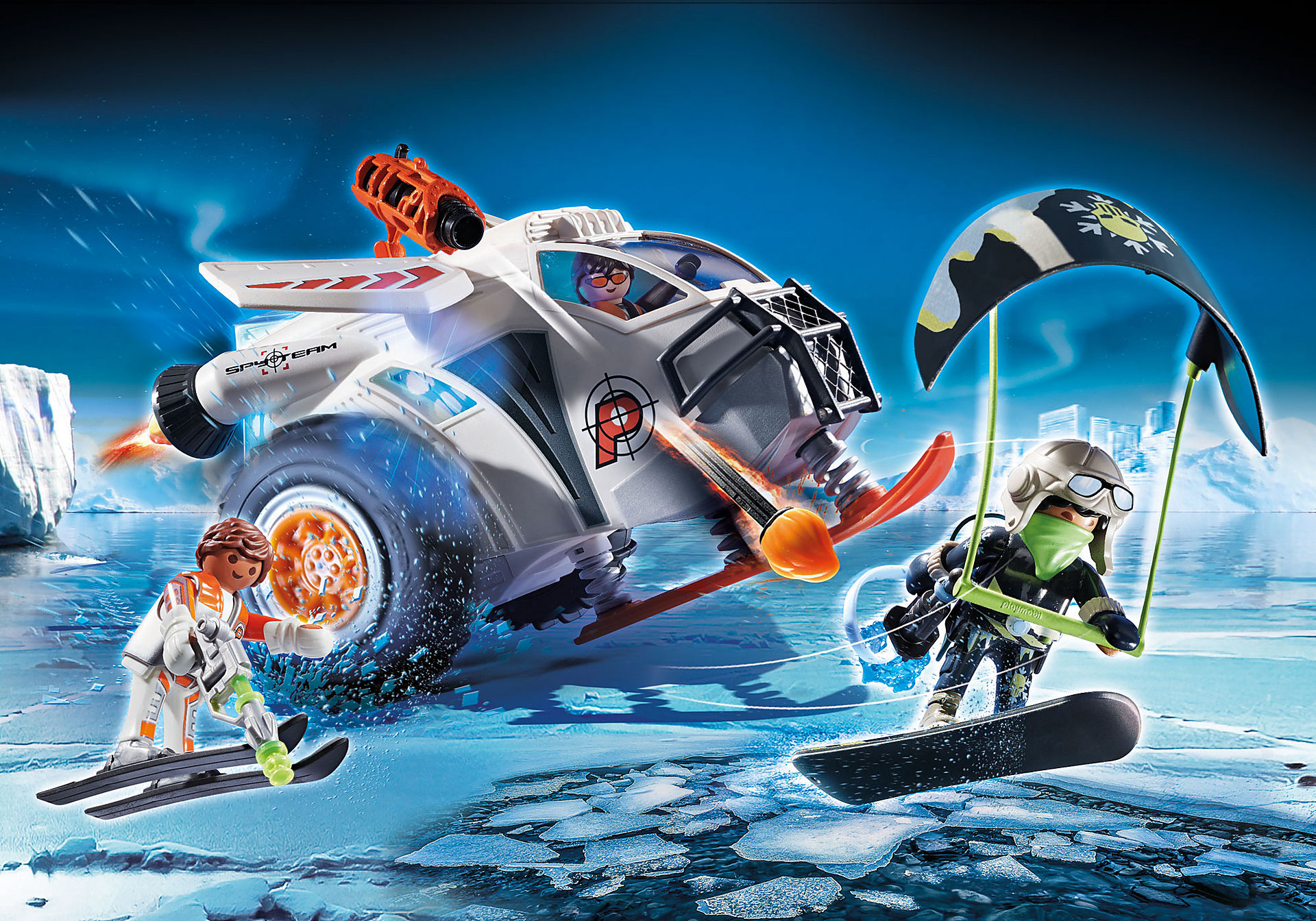 70231 Spy Team Snow Glider zoom image1