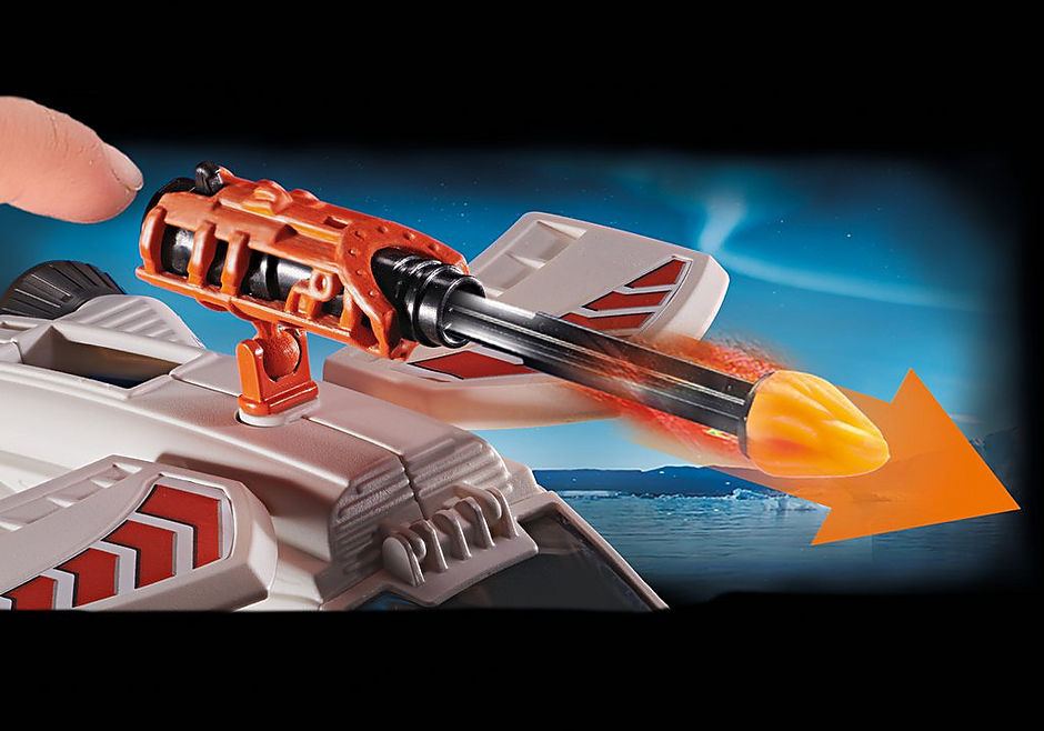 70231 Spy Team Pojazd śnieżny detail image 6