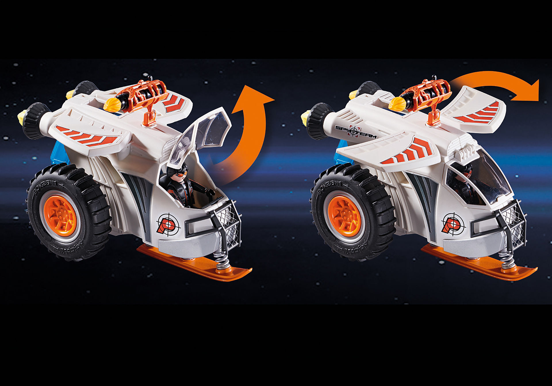 70231 Spy Team Snow Glider zoom image7