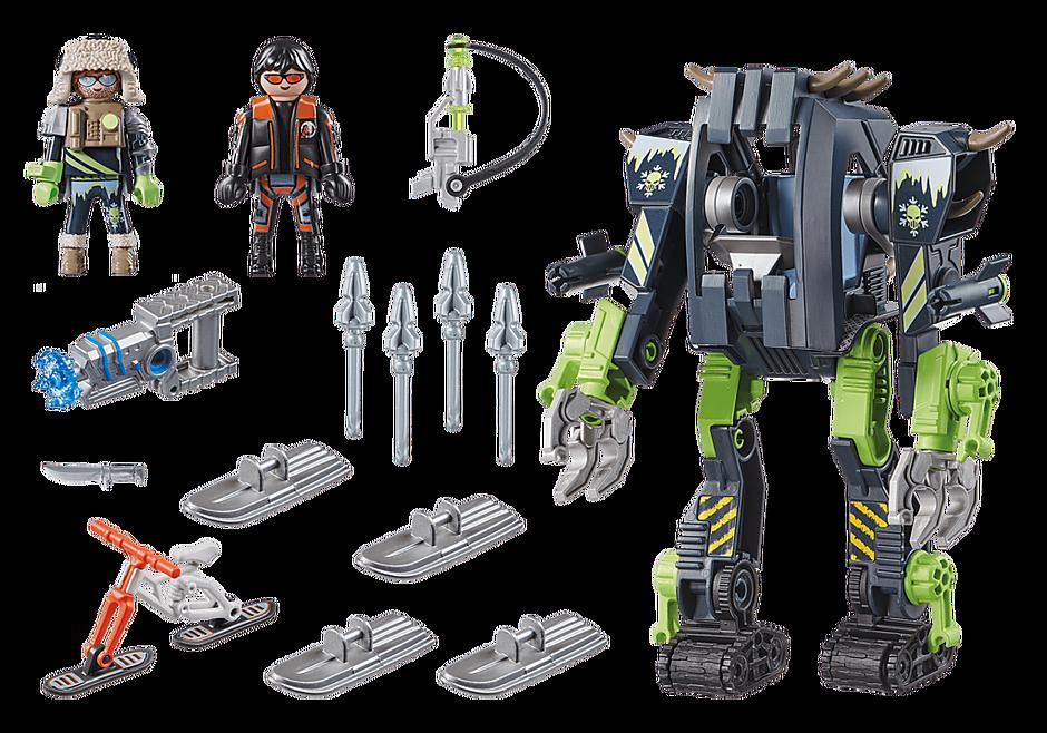 70233 Arctic Rebels Robot de Hielo detail image 3