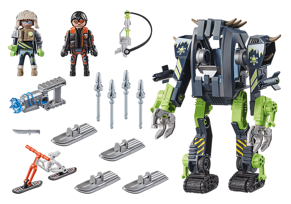 70233 Arktyczni rebelianci Lodowy robot detail image 3