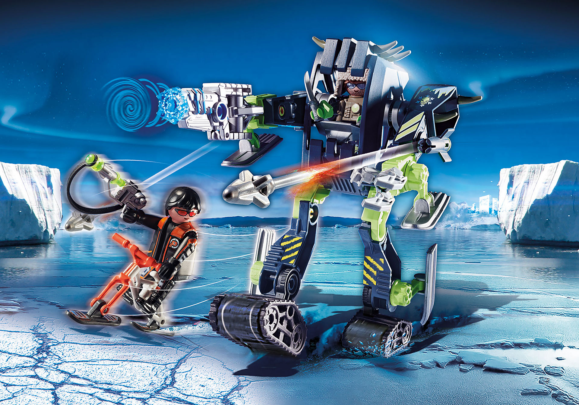 70233 Arctic Rebels Ice Robot zoom image1