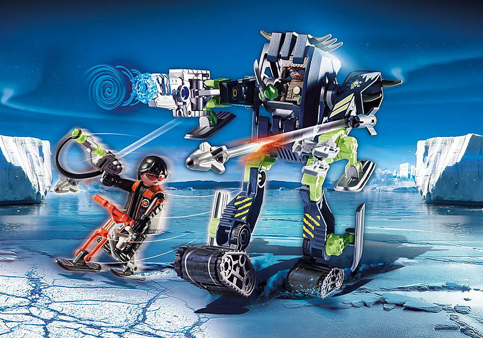 70233 Arctic Rebels Robô de Gelo detail image 1