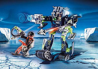 70233 Arktyczni rebelianci Lodowy robot