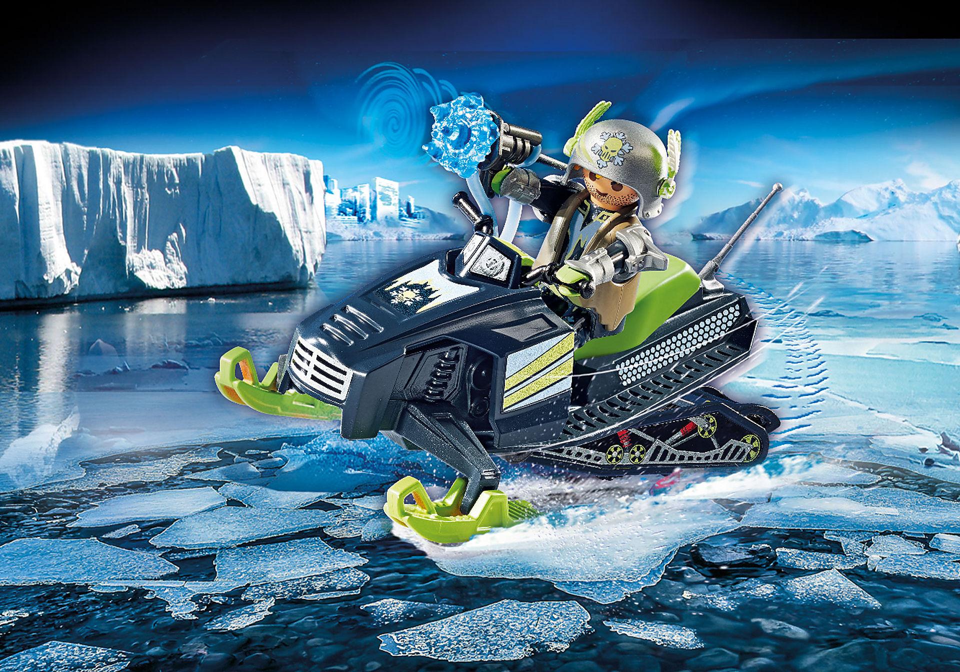 70235 Rebelle arctique et scooter des neiges  zoom image1