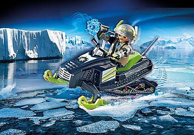 70235 Rebelle arctique et scooter des neiges