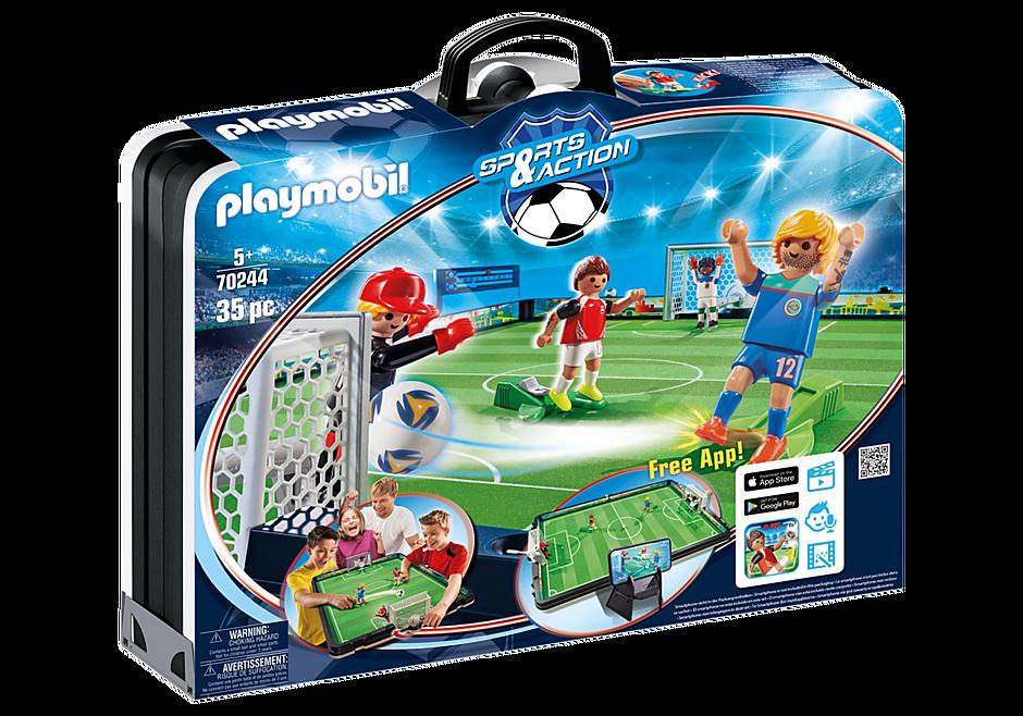 70244 Grand terrain de football transportable detail image 3