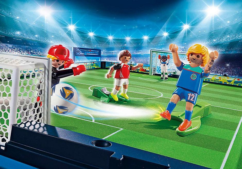 70244 Medtagbar stor fotbollsarena detail image 1