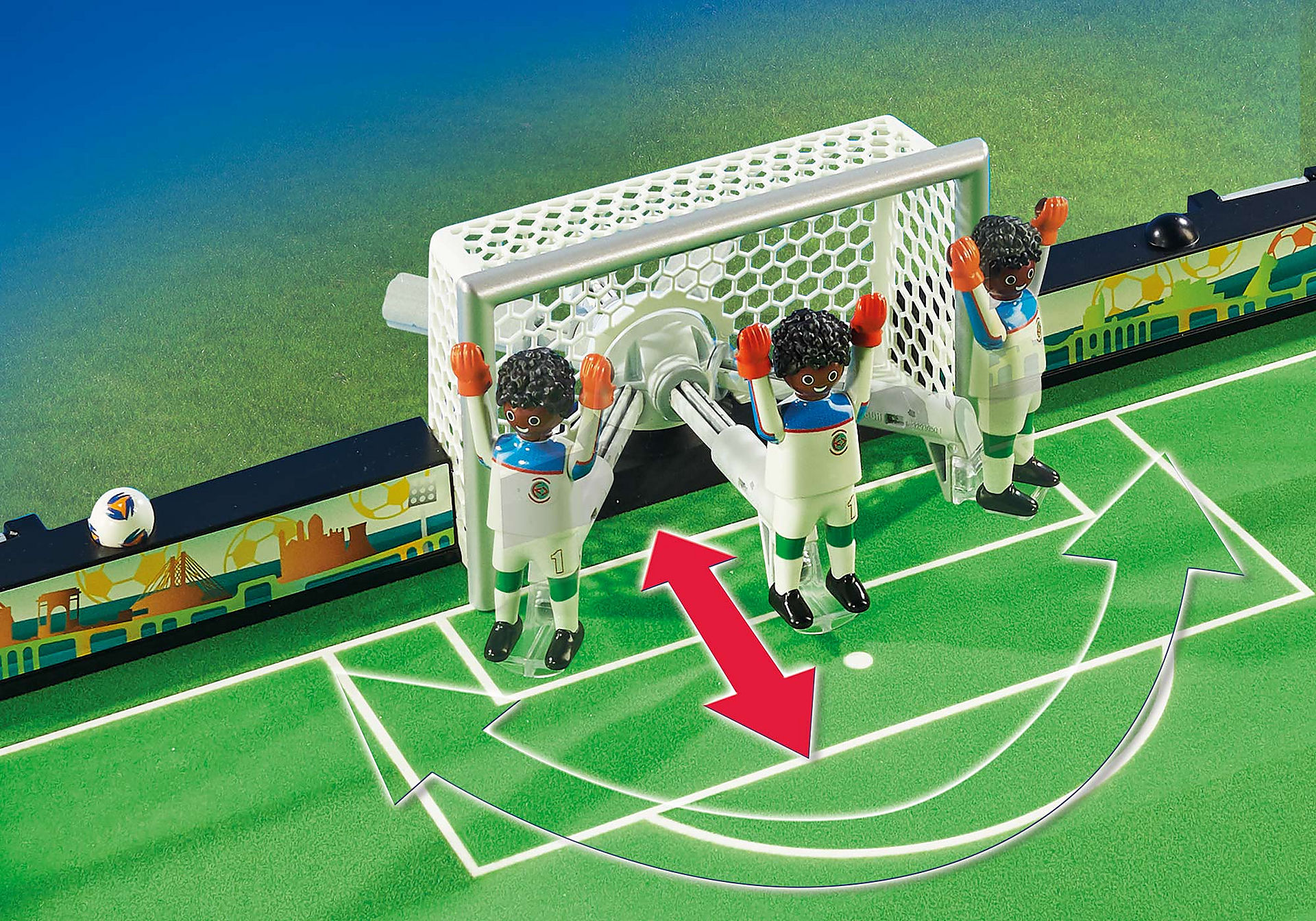 70244 Grand terrain de football transportable zoom image4