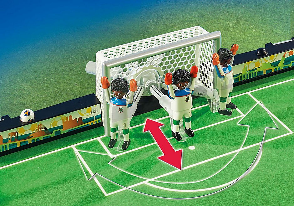 70244 Grand terrain de football transportable detail image 5