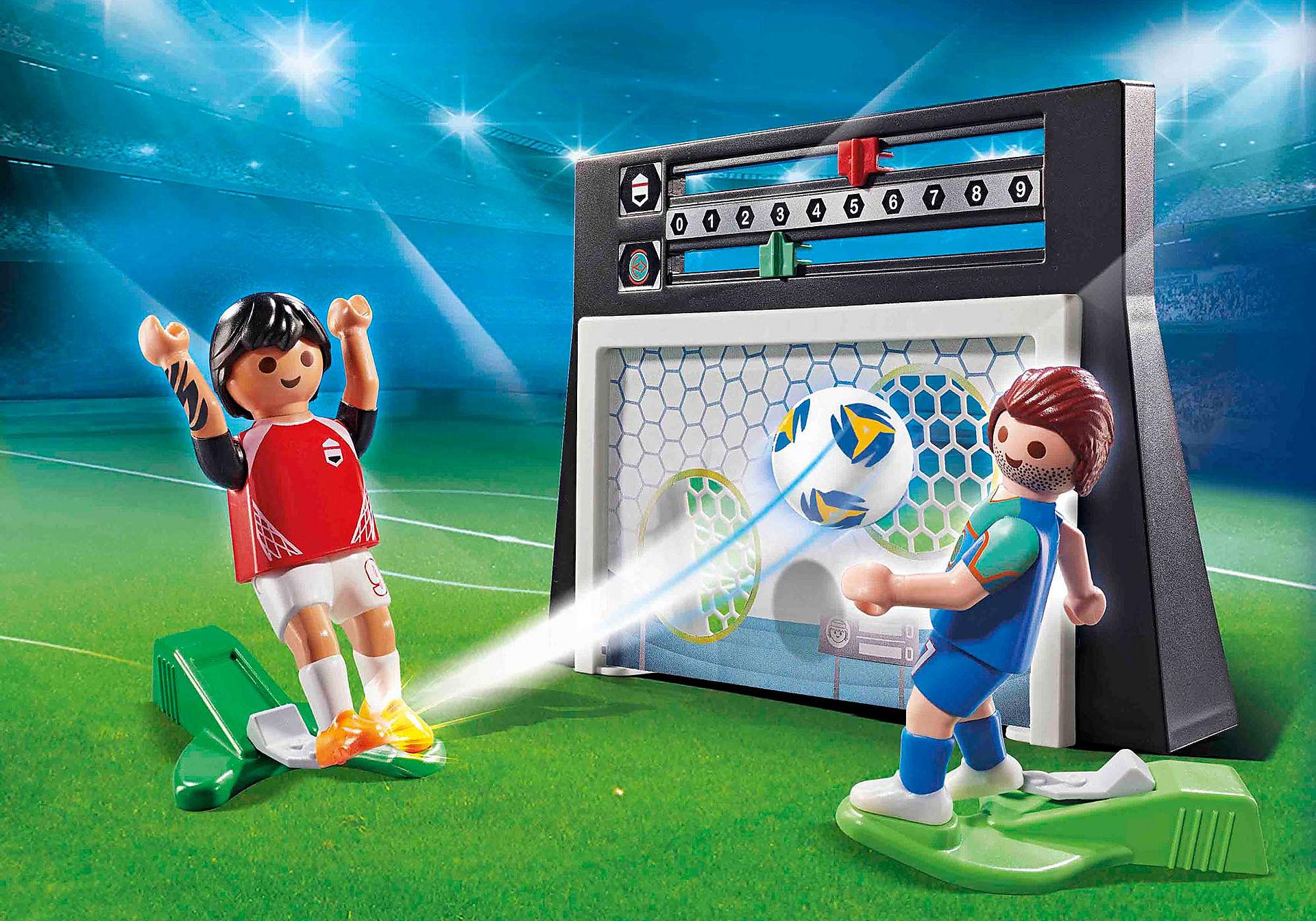 70245 Σετ εξάσκησης ποδοσφαίρου με πίνακα αποτελεσμάτων  zoom image1