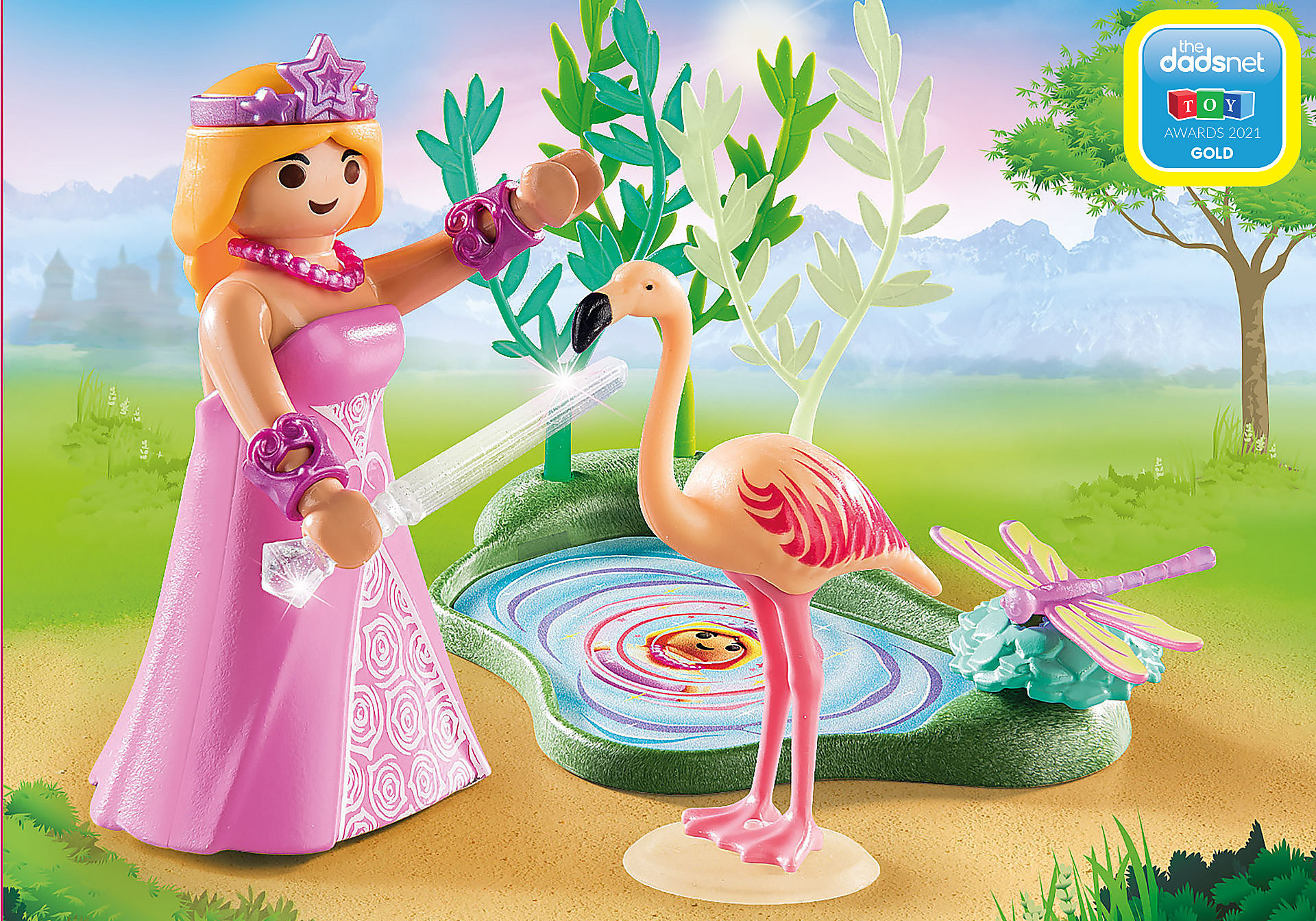 70247 Princess at the Pond zoom image1