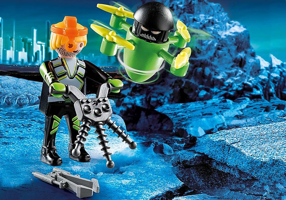 70248 Agente con Dron detail image 1