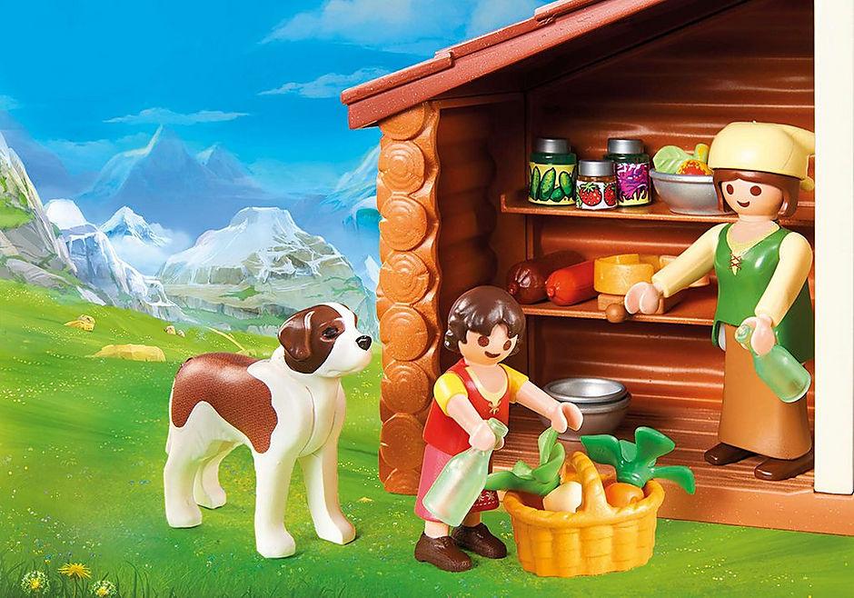 70253 Heidi och Farfar i alpstuga detail image 5