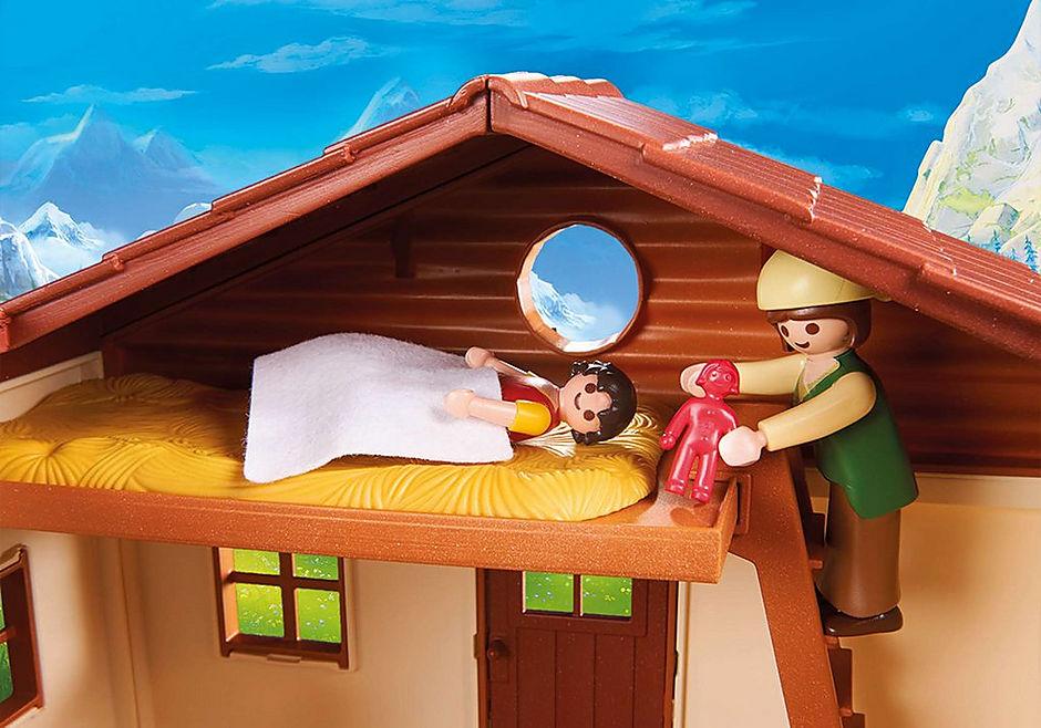70253 Heidi und Großvater auf der Almhütte detail image 7