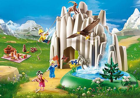 70254 Heidi, Peter et Clara au lac de cristal