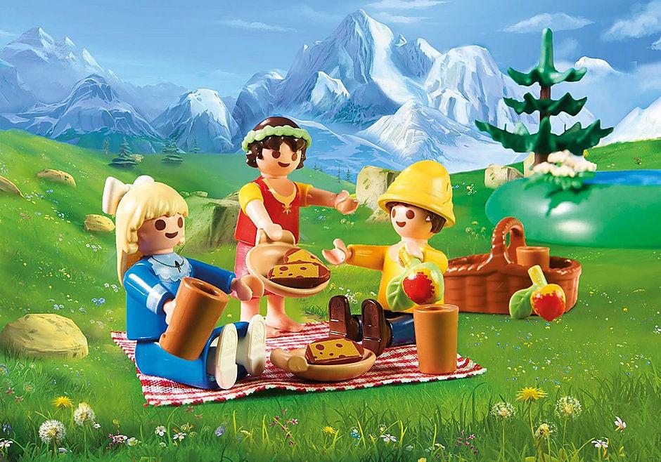 70254 Heidi, Klara en Peter bij het meer detail image 4